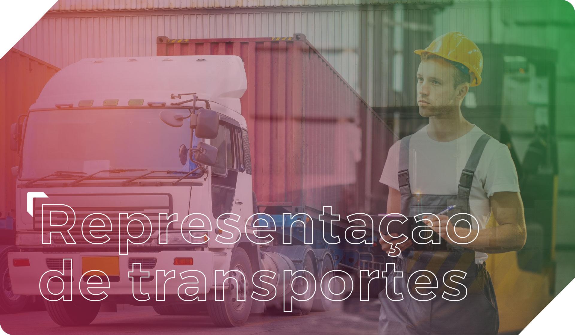 Representação de transportes (legal e operacional)
